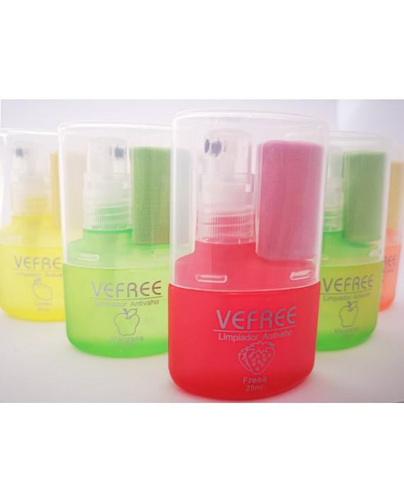 6 Limpiadores Lentes colores gamuza